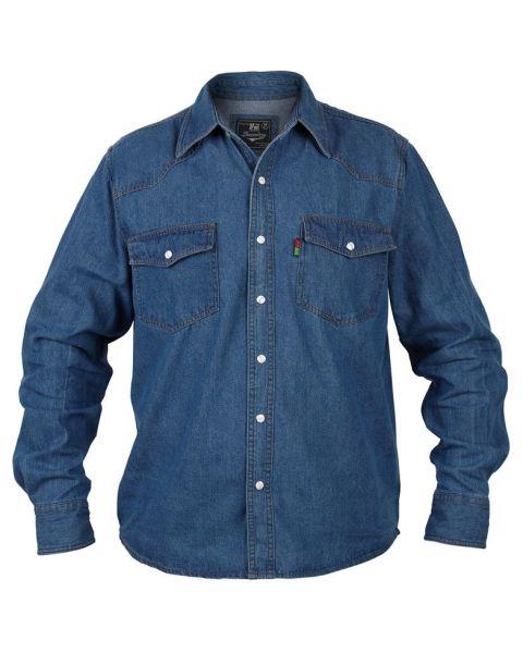 Duke Big Kingsize Blue Denim Shirt Image