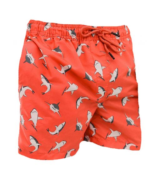 Jack & Jones Cali Men's Shorts Hot Coral | Jean Scene