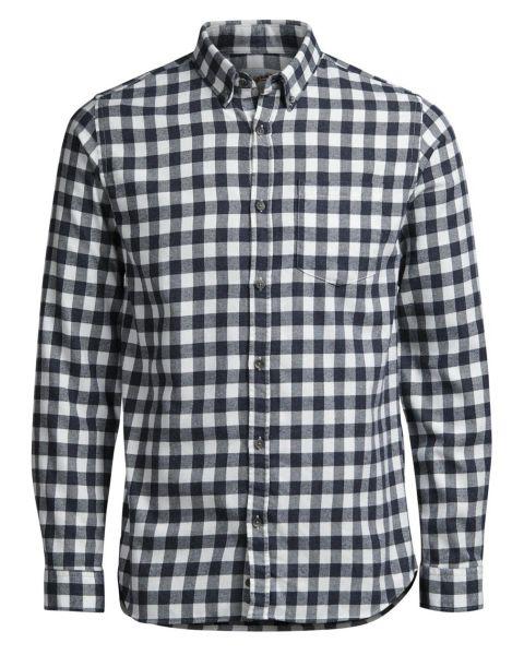 Jack & Jones Originals William Check Shirt Long Sleeve Cloud Dancer | Jean Scene