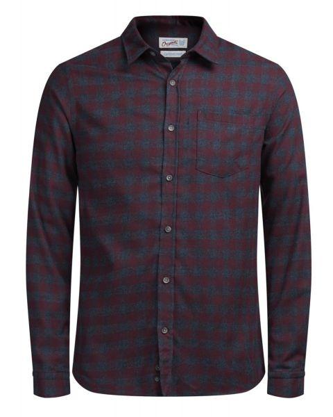 Jack & Jones Originals William Check Shirt Long Sleeve Port Royale | Jean Scene