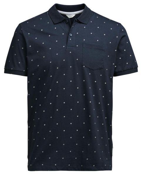 Jack & Jones Core Polo Pique Shirt Sky Captain   Jean Scene