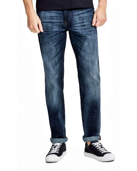 Jack & Jones Clark Original Regular Fit Denim Jeans 255 Blue | Jean Scene