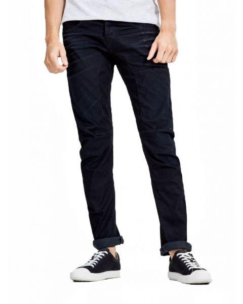 Jack & Jones Stan Original Anti Fit Denim Jeans Dark Blue | Jean Scene