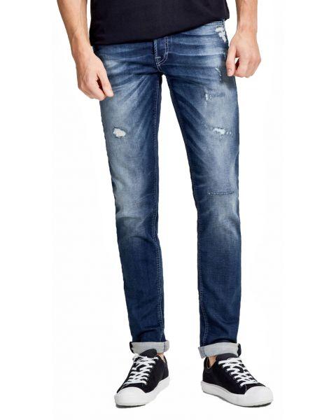 Jack & Jones Glenn Original Slim Fit Denim Jeans 118 Blue | Jean Scene