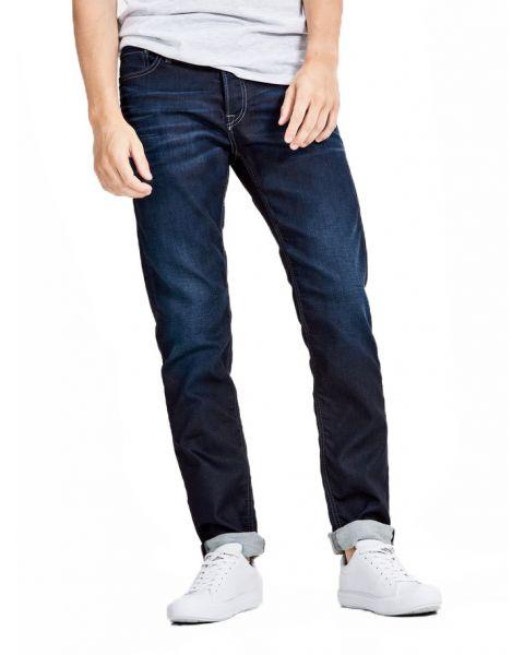 Jack & Jones Mike Original Comfort Fit Denim Jeans Dark Blue   Jean Scene