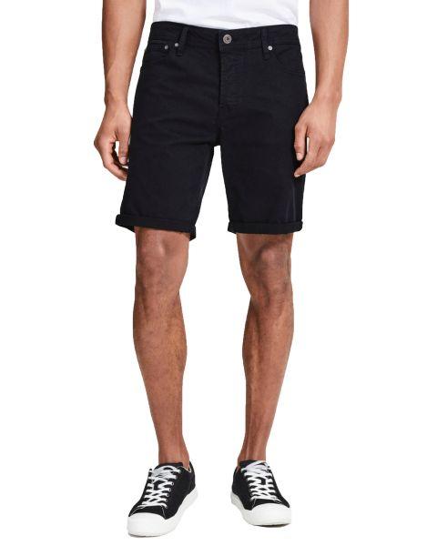 Jack & Jones Men's Rick Chino Stretch Shorts Black | Jean Scene