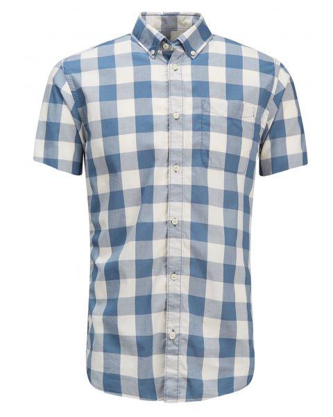 Jack & Jones Originals Regular Boise Short Sleeve Shirt Cloud Dancer | Jean Scene