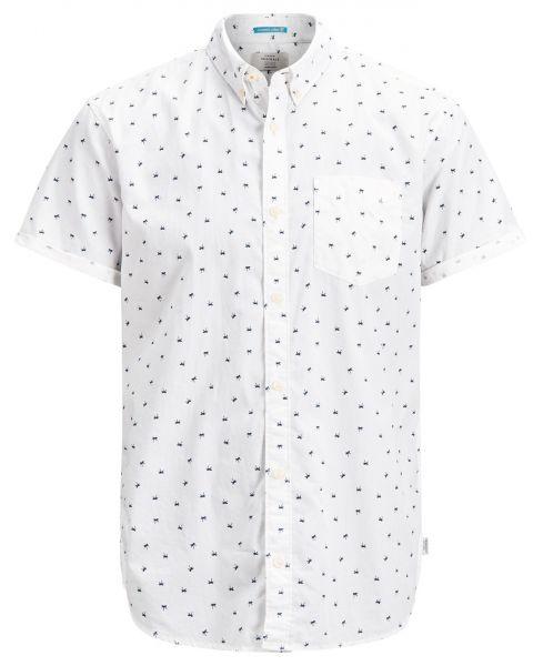Jack & Jones Originals Regular Cambridge Short Sleeve Shirt Cloud Dancer | Jean Scene