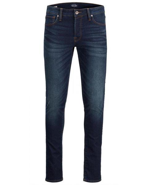 Jack & Jones Glenn Original Slim Fit Denim Jeans 046 Blue | Jean Scene