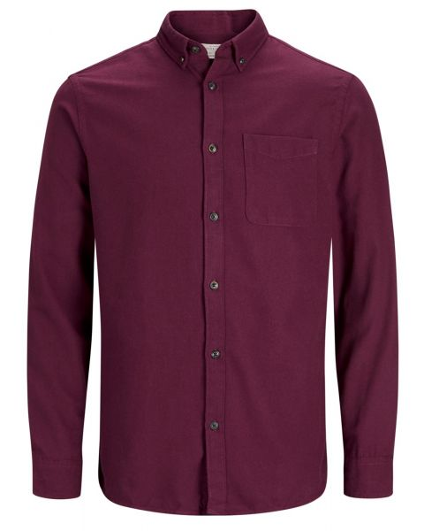 Jack & Jones Originals Regular Chris Long Sleeve Shirt Port Royale | Jean Scene