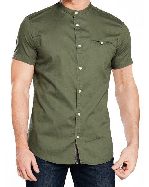 Jack & Jones Originals Slim Greg Shirt Short Sleeve Thyme | Jean Scene