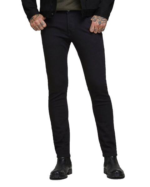 Jack & Jones Glenn Original Stretch Slim Denim Jeans Black Denim | Jean Scene