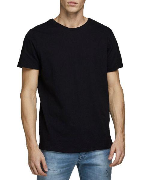 Jack & Jones Basic Plain Crew Neck T-Shirt Black