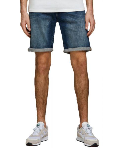 Jack & Jones Men's Rick Denim Jean Shorts Blue | Jean Scene