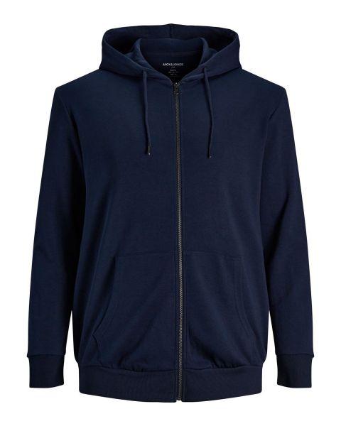 Jack & Jones Basic Zip Hoodie Navy Blazer