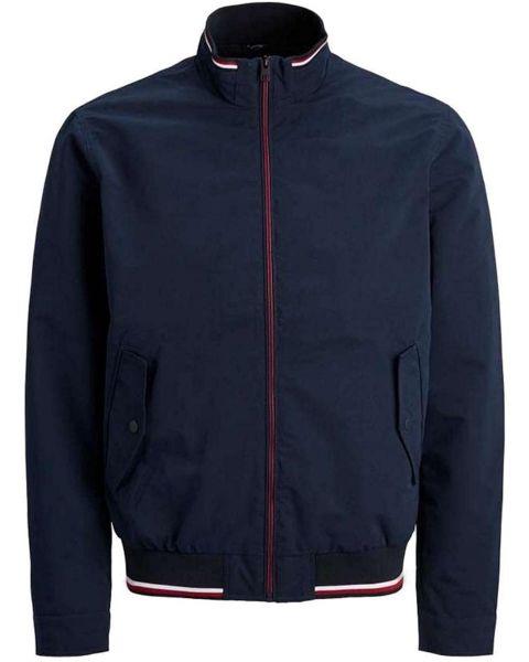 Jack & Jones Men's Carman Casual Jacket Navy Blazer | Jean Scene