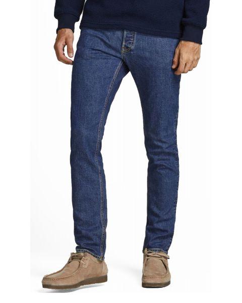 Jack & Jones Glenn Original Slim Denim Jeans 328 Blue Denim | Jean Scene