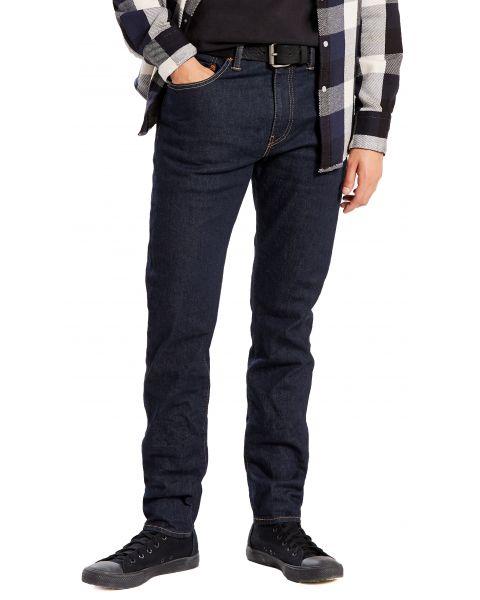 Levis 512 Denim Jeans Dark Blue Rock Cod | Jean Scene