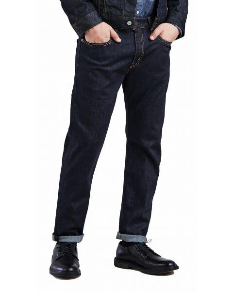 Levis 502 Denim Jeans Dark Blue Rock Cod | Jean Scene