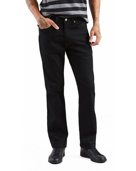 Levis 514 Denim Jeans Dark Black Nightshine X Black | Jean Scene