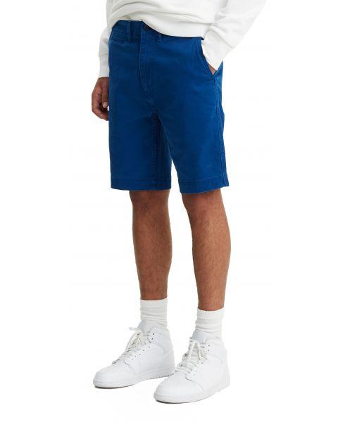 Levis 502 Chinos Shorts Dark Blue Spirit Blue   Jean Scene