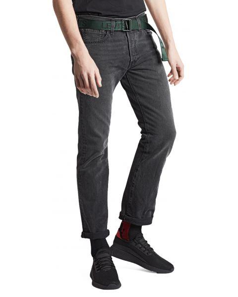 Levis 501 Denim Jeans Solice Grey   Jean Scene