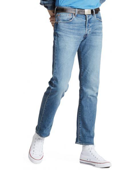 Levis 501 Denim Jeans Dark Blue Ironwood Overt Blue   Jean Scene