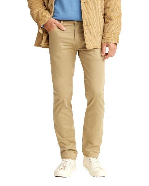 Levis 511 Soft Fabric Jeans Dark Blue Gold Sueded | Jean Scene
