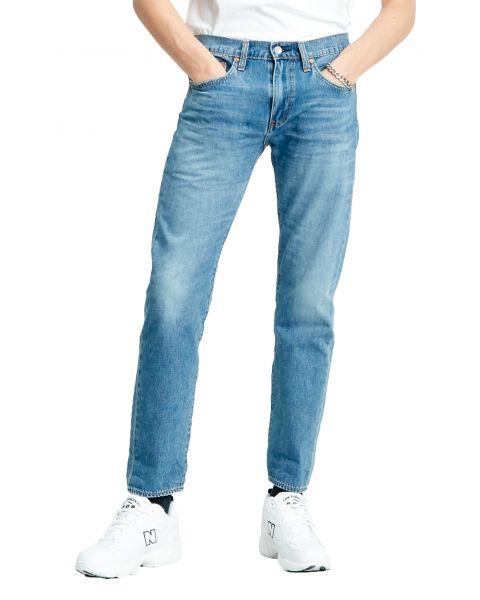 Levis 502 Denim Jeans Dark Blue Ocala Park Ltwt | Jean Scene