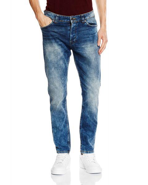 Only & Sons Loom Slim Fit Denim Jeans Medium Blue | Jean Scene