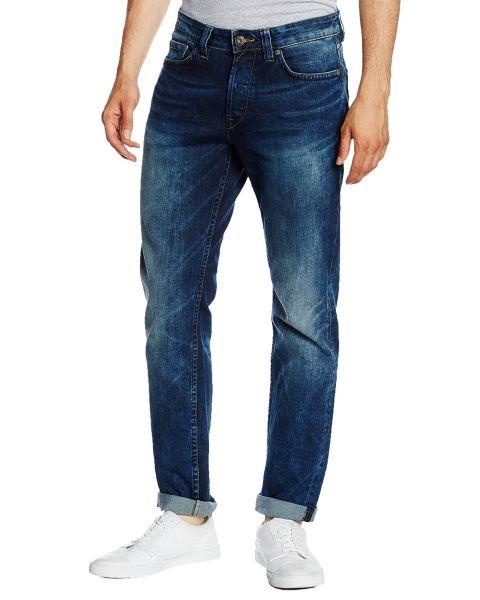 Only & Sons Weft Regular Fit Denim Jeans 3944 Mid Blue | Jean Scene