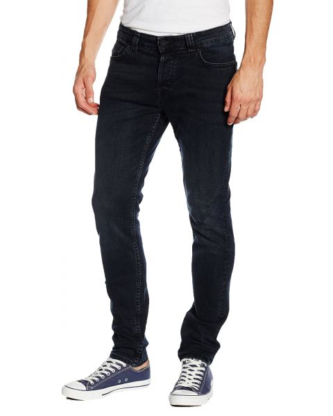 Only & Sons Loom Slim Fit Denim Jeans 4358 Dark Blue | Jean Scene