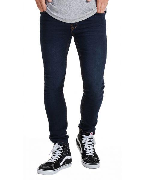 Only & Sons Loom Slim Fit Denim Jeans 6958 Dark Blue   Jean Scene