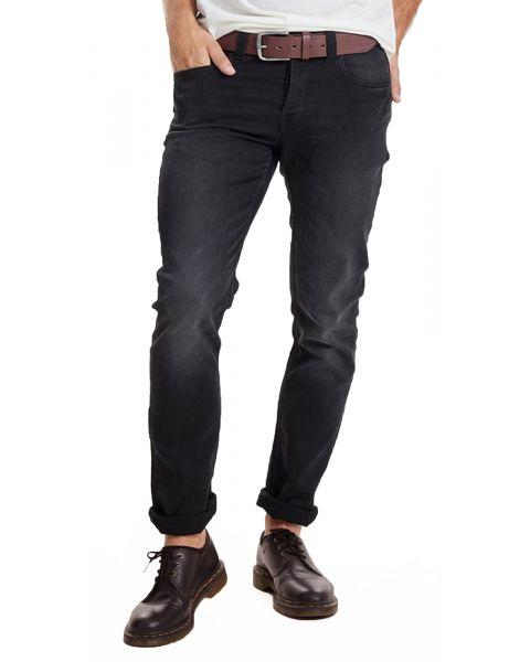 Only & Sons Loom Slim Fit Denim Jeans 7451 Black   Jean Scene