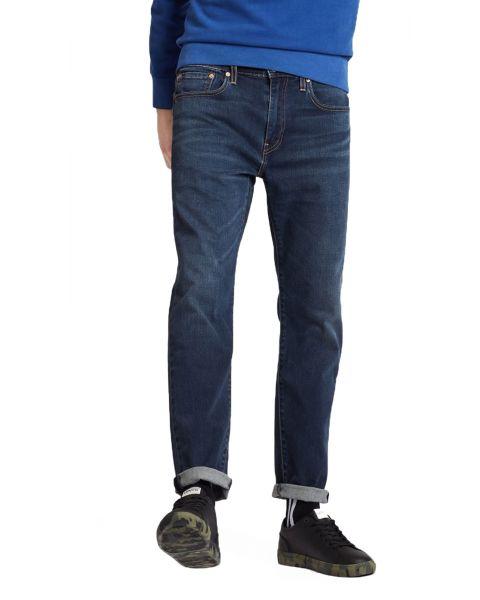 Levis 502 Denim Jeans Dark Blue Adriatic Adapt Blue   Jean Scene