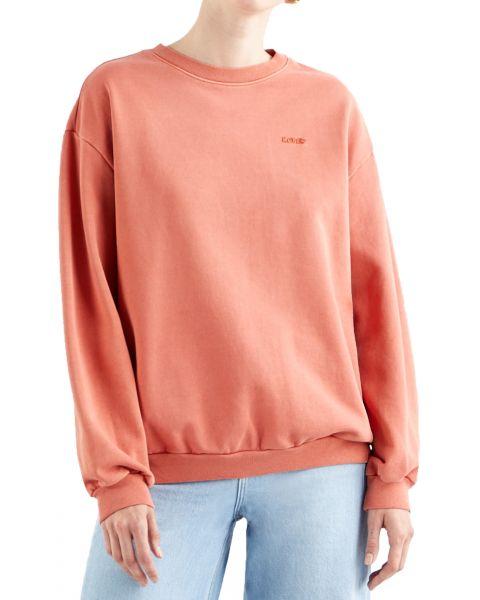Levis Womens Melrose Slouchy Sweatshirt Dye Tight Loops | Jean Scene
