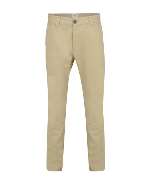 Lee Cooper Coburn Slim Fit Cotton Chinos Khaki | Jean Scene