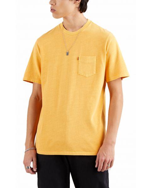 Levis Relaxed Pocket Men's T-Shirt Kumquat Garme | Jean Scene