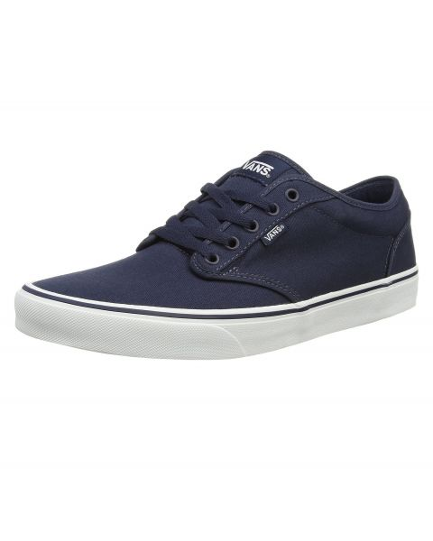 Vans Men's Atwood Canvas Trainers Navy White | Jean Scene