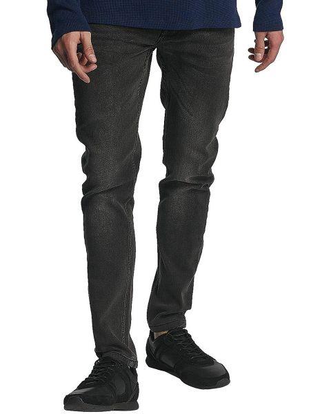Only & Sons Loom Slim Denim Jeans Grey | Jean Scene