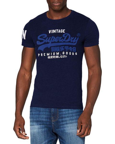 Superdry Vintage Logo T-Shirt Midnight