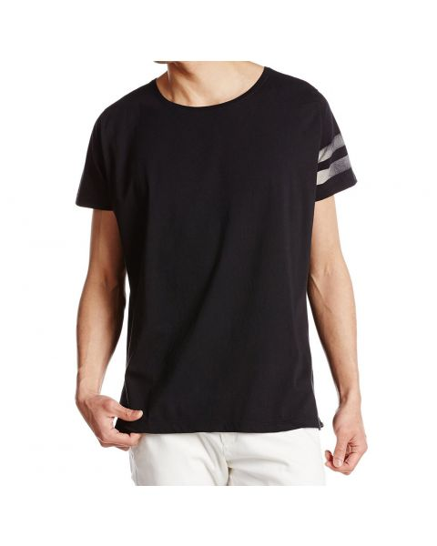 Diesel T-Ignatious Crew Neck Print T-shirt Black