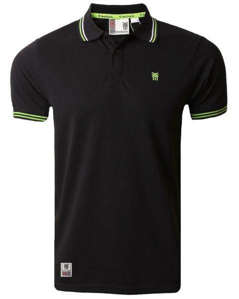 Fenchurch Men's Blackwall Polo Shirt Anthracite Black