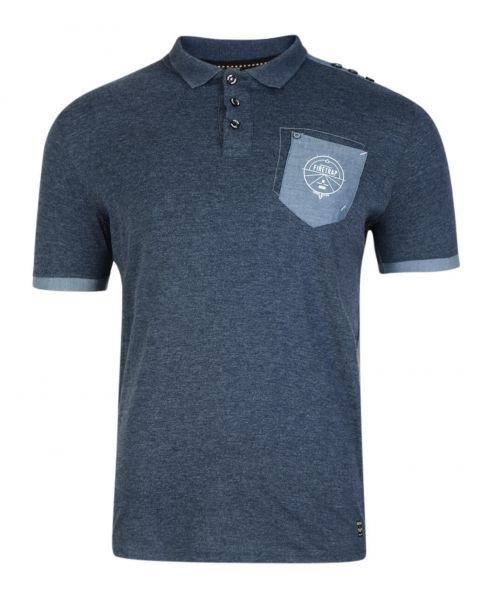 Firetrap Men's Polo Shirt Heaton Navy Marl