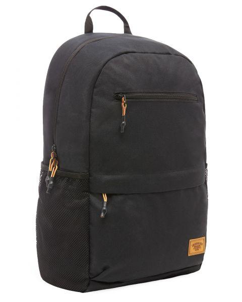 Timberland Rucksack Zip Top Backpack Bag Black | Jean Scene