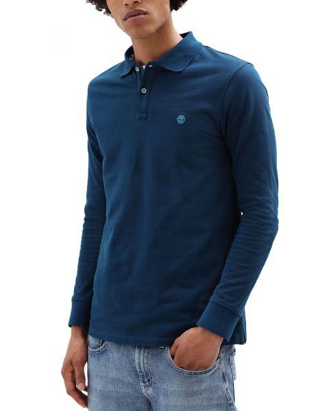 Timberland Long Sleeve Regular Polo Shirt Gibraltar | Jean Scene