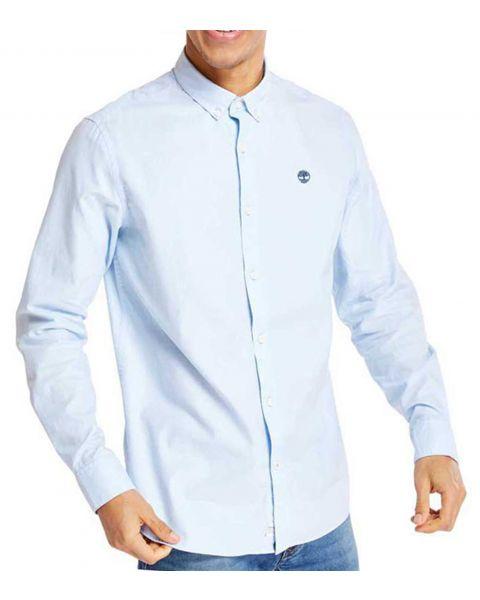 Timberland Long Sleeve Regular Logo Shirt Long Sleeve Skyway | Jean Scene