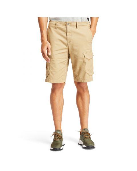 Timberland Twill Cargo Shorts British Khaki | Jean Scene