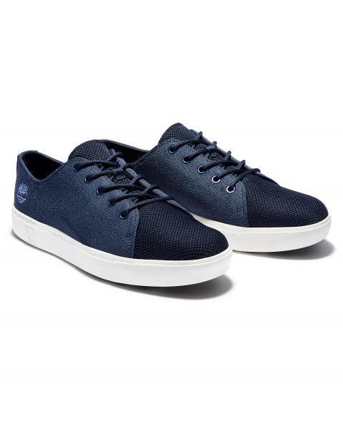 Timberland Mens Amherst Leather Slip On Shoes Shoes Ox Navy | Jean Scene
