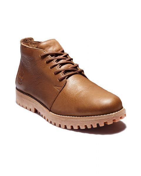 Timberland Mens Jackson Landing Leather Chukka Shoes Rust | Jean Scene